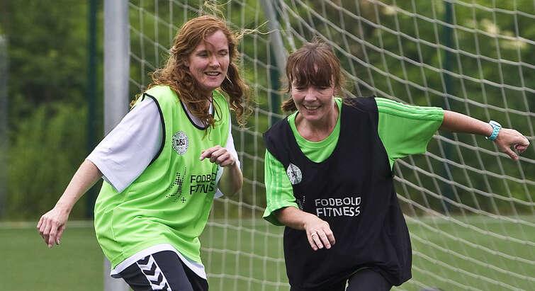Kvinder Fodbold Fitness