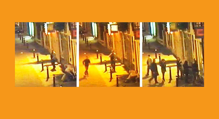 Bystanders til vold - fra videoovervågning
