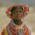 Afrikansk kvinde. Foto:Michael Grabowski