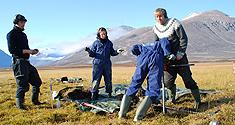 Boreprøver i Grønland