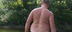 Overvægtig mand