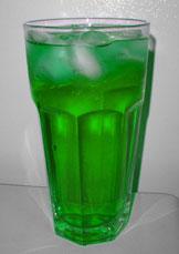 Grøn læskedrik. Foto: mai-mêne