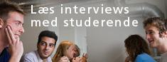 Læs interviews med studerende
