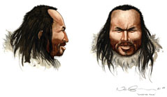 Rekonstruktion af Inuk