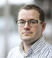 Projektleder professor Kasper Hornbæk fra Datalogisk Institut på Københavns Universitet.