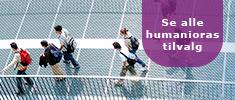 Se alle humanioras tilvalg