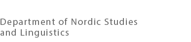 Department of Nordic Studies and Linguistics
