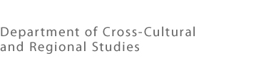 Department of Cross-Cultural and Regional Studies
